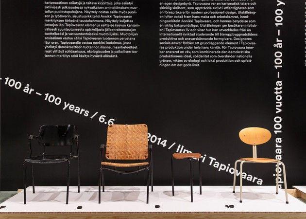 Ilmari Tapiovaara 100 years exhibition