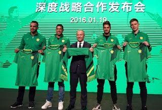 Blog Esportivo do Suíço:  Clube chinês apresenta Renato Augusto e Ralf e contrata técnico campeão pelo Milan