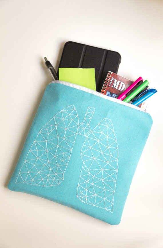 Geometric Lung Design Bag
