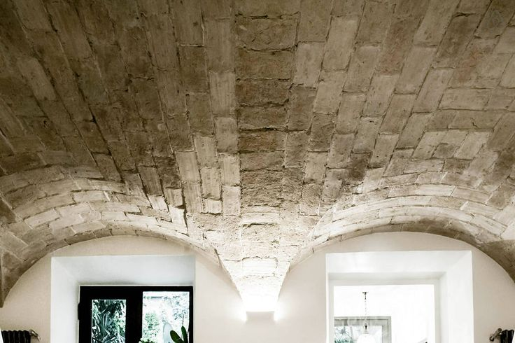 lovely and ancient vaulted ceiling