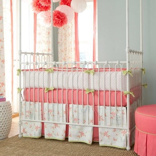 Coral baby room