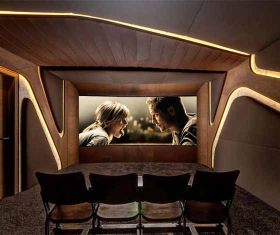 Home Cinema for 8SEC. by Barefoot Design (DE)