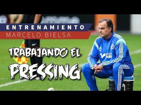 (4) Ejercicio Marcelo Bielsa | Presión a salida equipo rival - YouTube