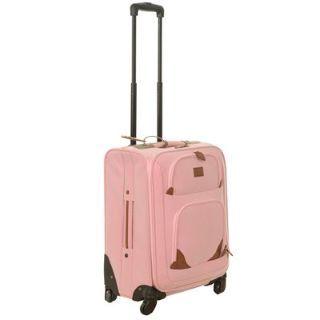 Kangol Soft Pink Suitcase 16inch £17.99 #CabinSuitcase #17inchSuitcase #CabinLuggage http://www.mrluggage.com/kangol-soft-pink-suitcase-708041?colcode=70804190
