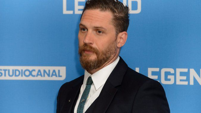 Tom Hardy plays a bisexual gangster in Legend , where he co-stars with himself  as the infamous East End London gangsters Ronnie Kray and Reggie Kray in Brian Helgeland's violent period drama.