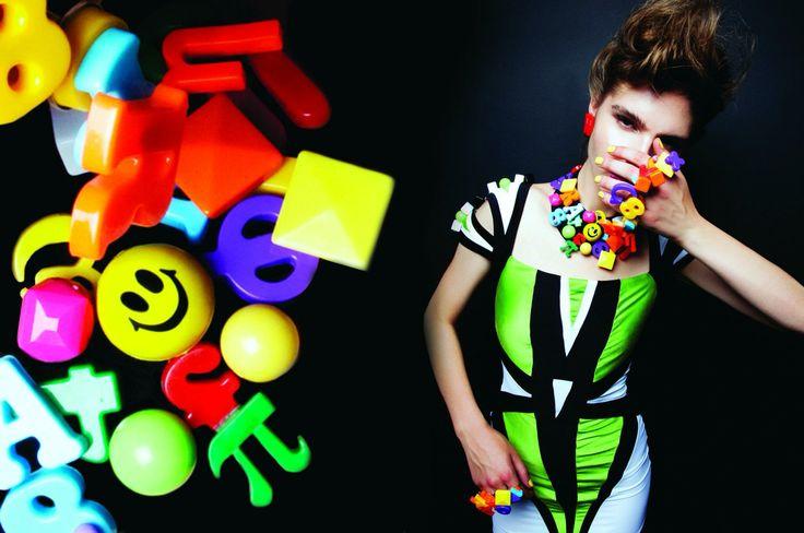 """Plastic Fantastic "" haute couture collection Konstantinos Melis by Laskos"