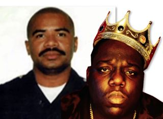 David Mack - Biggie LAPD  David Mack was the LAPD cop on Suge Knight's payroll. If you watched Who Shot Tupac and Biggie?then you most likely think Mack shot Biggie. In 1997 Mack robbed a Bank of America in Los Angeles with three accomplices. He was dating Errolyn Romero a manager at the bank. David entered the bank in August of 1997 and told Errolyn that he wanted access to a safe deposit box.  Errolyn led Mack to the safe deposit boxes where he threw her to the ground and took $722000…