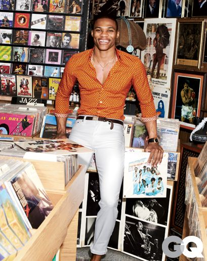 Russell Westbrook in Patterned Shirts for Spring: Style: GQ