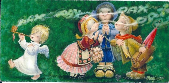 0933G - FERRÁNDIZ - EDICIONES SUBI - L.1796.1- AROMAS DE PAZ- DIPTICA 21,5X10,5 CM - Foto 1
