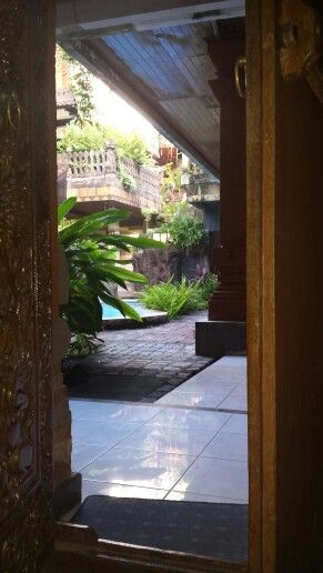 Room with a (pool) view, Legian, bali