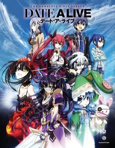 Date A Live Complete First Season Limited Edition Blu-ray Anime Review