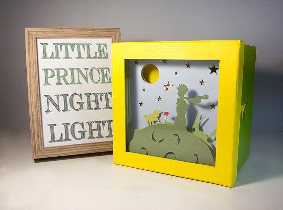 Kleine Prinz Nachtlicht Kinderzimmer Dekoration von FairyCherry