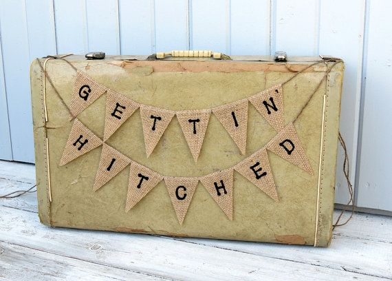 Gettin' Hitched Engagement Photography Prop by nhayesdesigns, $25.00