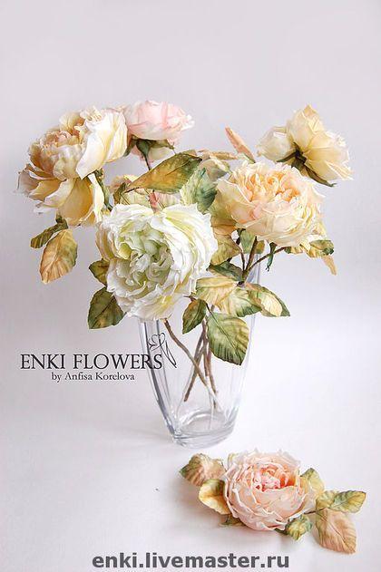 Прощание Розы.Интерьерные цветы.Цветы из шелка. - цветы для интерьера