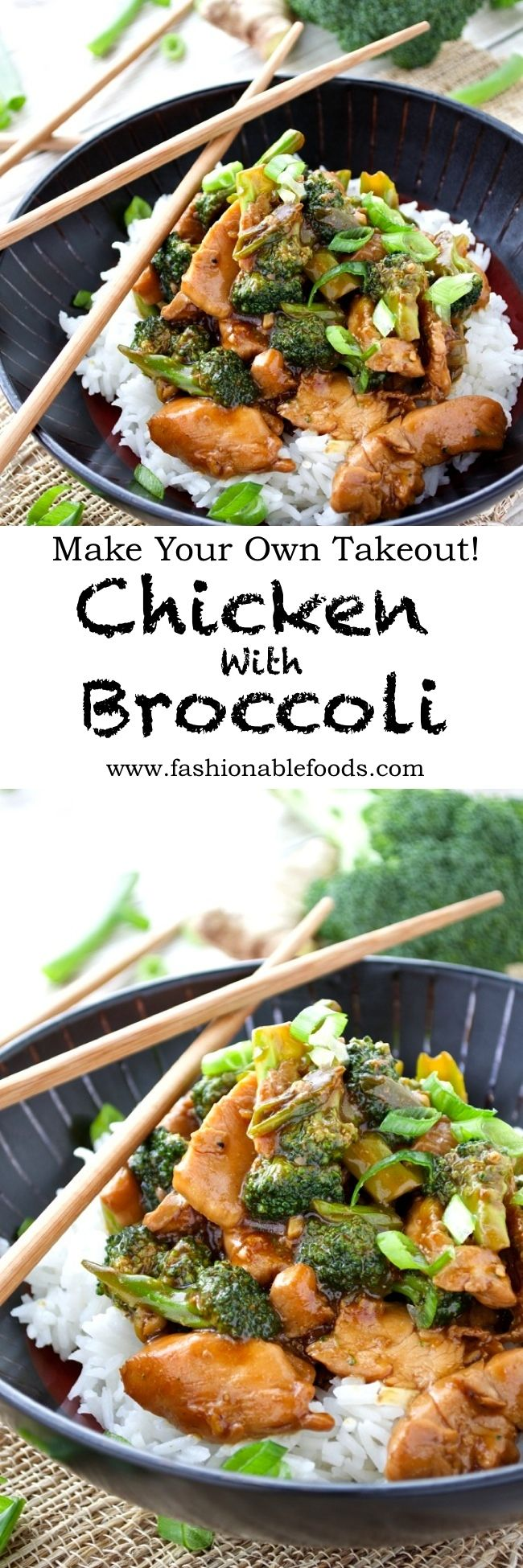 Chicken and broccoli is a popular Chinese takeout dish that's easy to make at home!