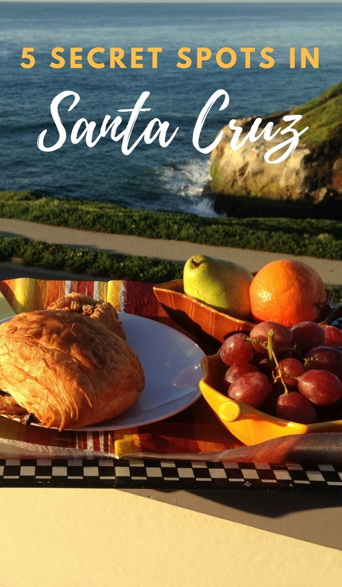 Love these! | Are you heading to Santa Cruz, California and looking for unique and fun things to do? Here are 5 secret spots in Santa Cruz that the locals love to go to. Click through to read now...