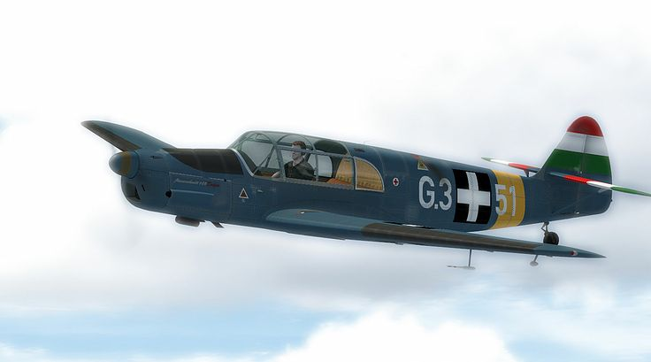 Bf 108 Hungarian colors