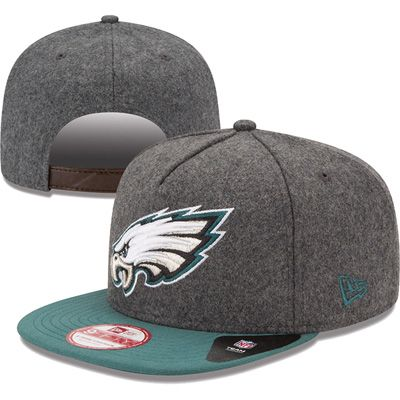 Philadelphia Eagles New Era 9FIFTY Classic Melt A Frame Hat