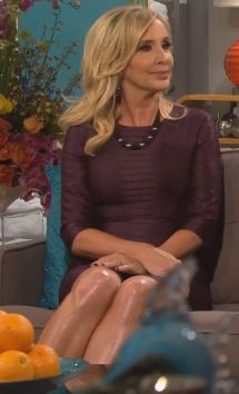 Shannon Beador's RHOC Season 10 Reunion Dress & Shoes | http://www.bigblondehair.com/real-housewives/rhoc/shannon-beadors-rhoc-season-10-reunion-dress-shoes/