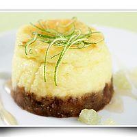 Cheese cake au citron vert