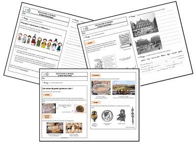 Teacher Charlotte: Voyage à travers le temps: les dossiers thématiques
