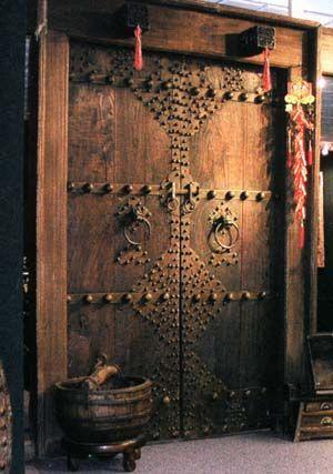 Chinese Antique Door from Anhui, China: Chine Doors, Double Doors, Front Doors, Antiques Window, Antiques Doors, Gates, Wooden Doors, Chinese Antique, Wood Doors