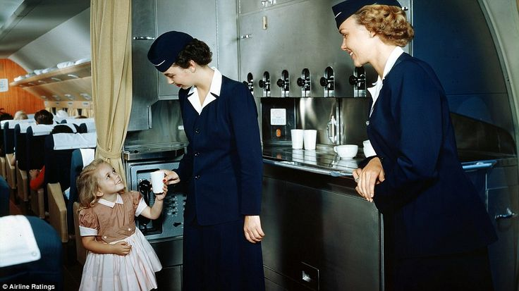 The nostalgic images don't betray how noisy and turbulent flights of this era could be. Fl...