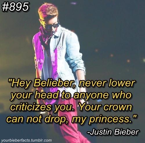 Bieber Fact - http://www.facebook.com/BelieberFamilyCom