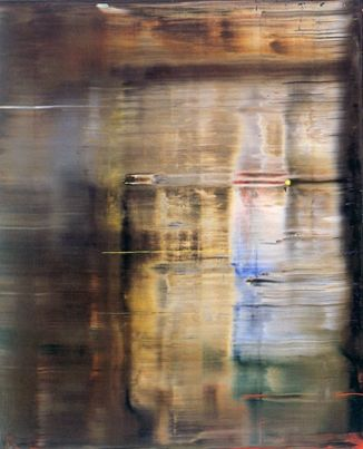 Abstraktes Bild  2000  Oil on canvas  Gerhard Richter