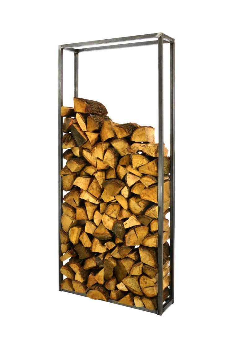 Metalen houtrek (200x90x25) als scheidingswand
