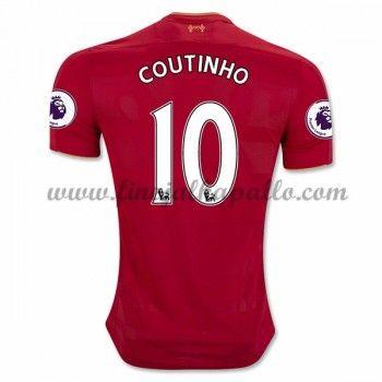 Jalkapallo Pelipaidat Liverpool 2016-17 Coutinho 10 Kotipaita