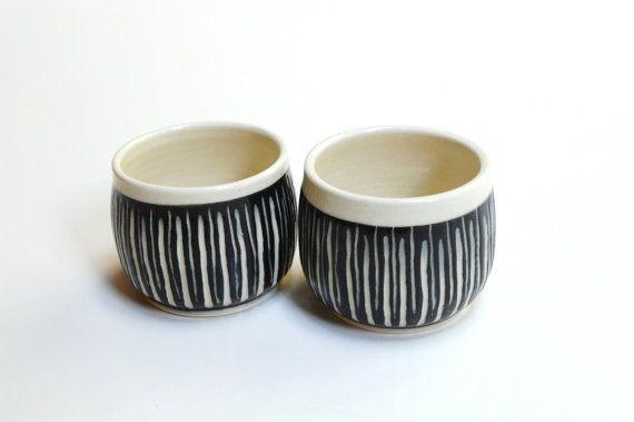 2 Yunomi Mugs No Handle Wine Tumblers Espresso Cups
