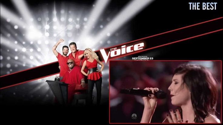 """Briana Cuoco """"Don't Speak"""" - The Voice US Season 5 - Knockout Round. I am in love with her"""
