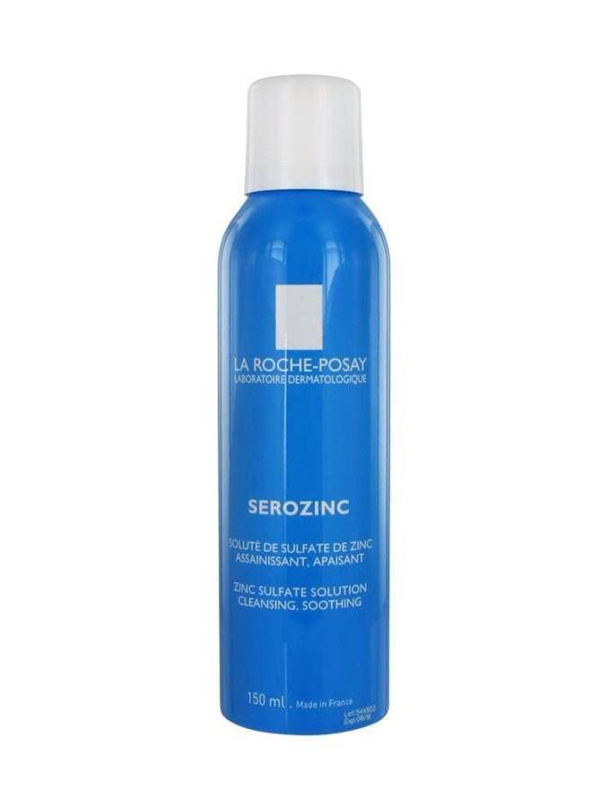 Le Roche Posay Serozinc Mist. Soothing and works well on irritated, blotchy skin.