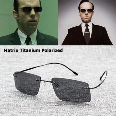 b4e5cfa970 JackJad New 2017 The Matrix Style Polarized Driving Men Sunglasses Brand  Design Titanium Memory Frame Sun