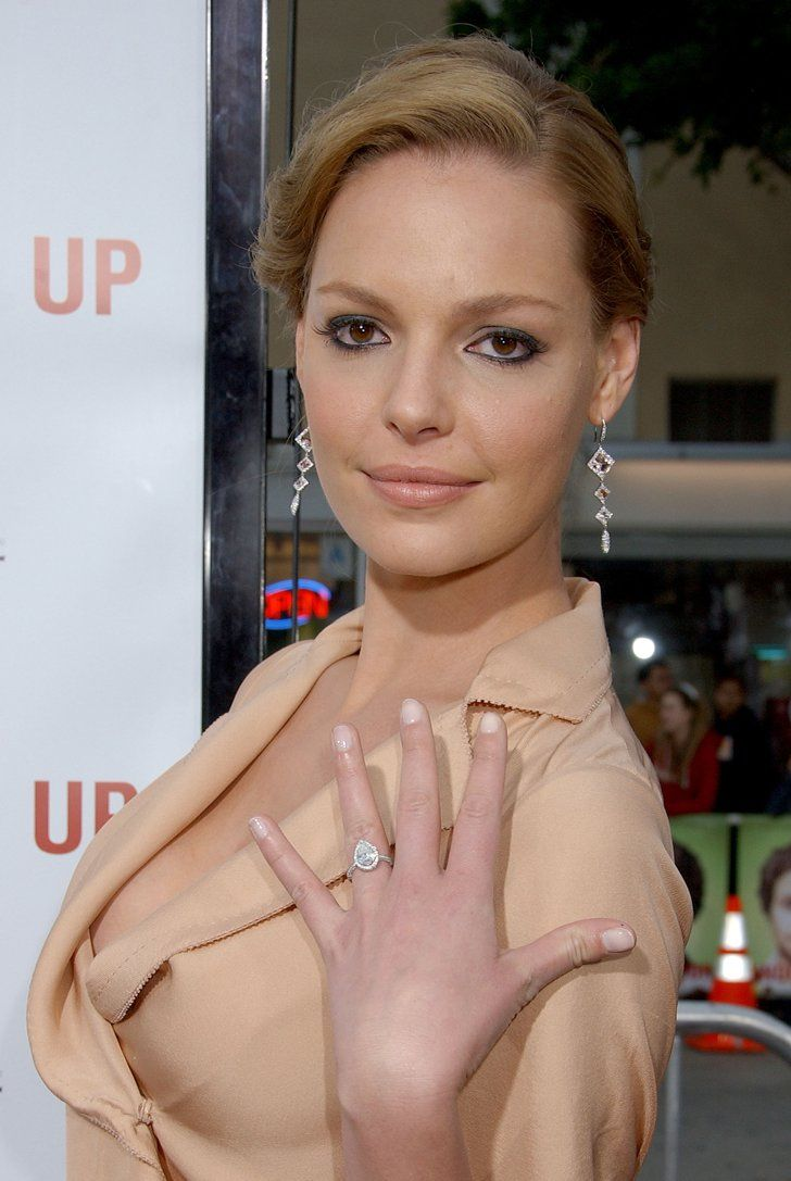 Pin for Later: 18 Stunning Nontraditional Celebrity Engagement Rings Katherine Heigl