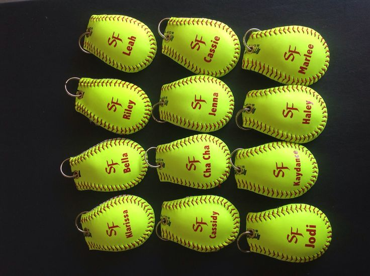 Softball Bag Tags Softball Banquet Pinterest Bag tag
