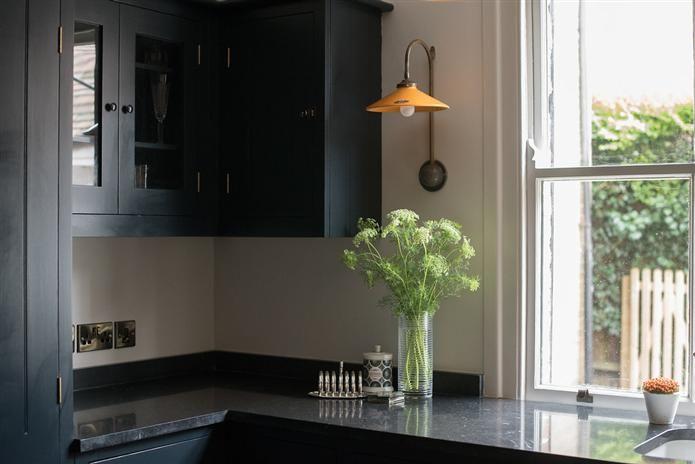 Railings on cabinets