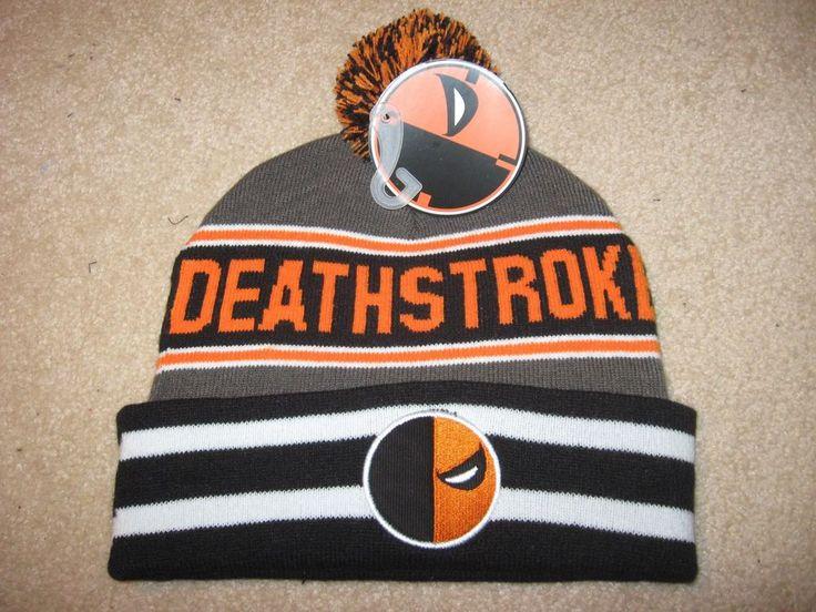 DEATHSTROKE movie DC COMIC Book New MEN'S Ski BEANIE Snowboard Tossel HAT Cap #DCCOMICS #SkiorSnowboard