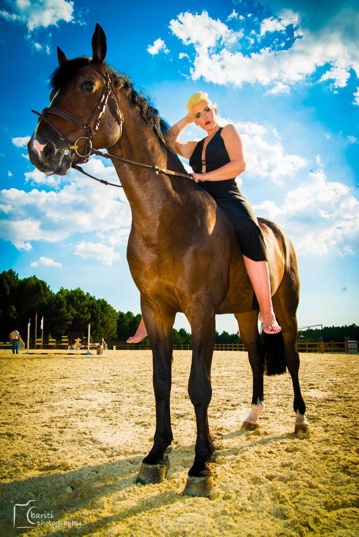 Fotograf�a Lady On The Horse Por Bariti En 500px  March Horse Riding   Pinterest  Horses, The Horse And Lady