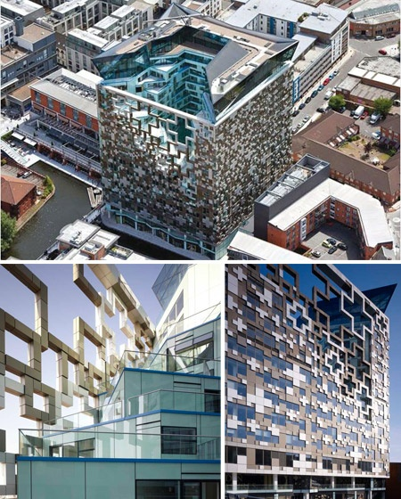 The Cube Birmingham, England.