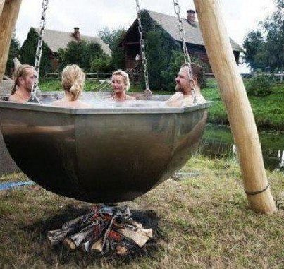 another use of a cauldron :)