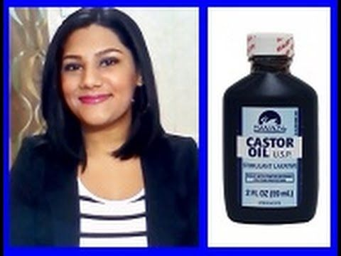 DIY: Castor Oil for Eyebrow Regrowth Before and After - YouTube