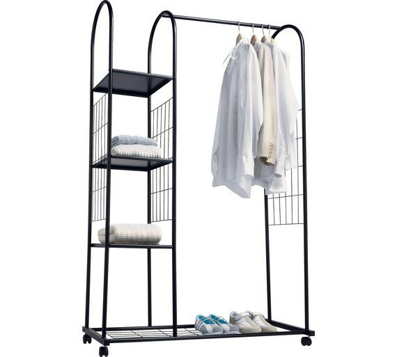 25 best ideas about hanging rail on pinterest modern - Bedroom furniture for hanging clothes ...