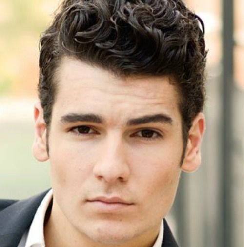 Hairstyles For Men With Thin Curly Wavy Hair 100