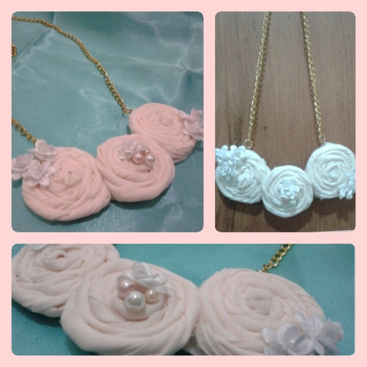 Beuatiful in white necklace
