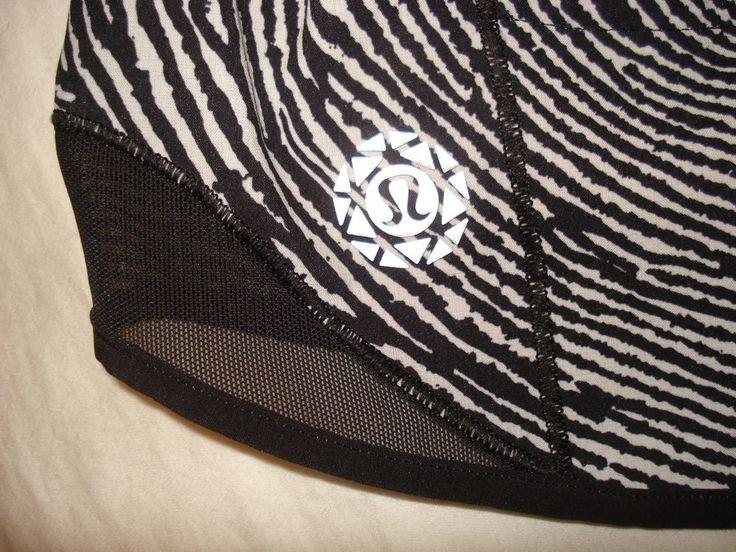 LULULEMON Exclusive 2016 SEAWHEEZE Hotty Hot Shorts WDIB/BLK  Sz 6 EUC | eBay