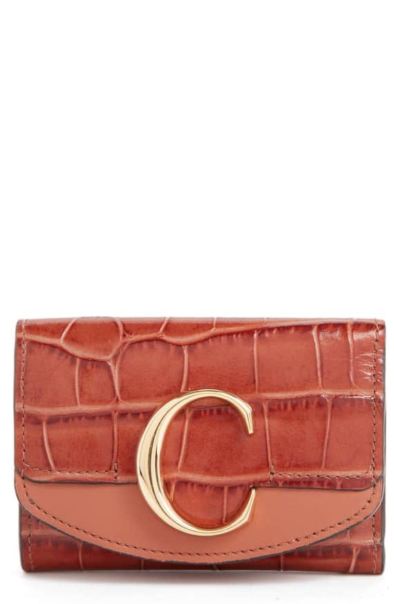 Pin By Cindi On Best Dressed Leather Wallet Fashion Embossed Leather Wallet