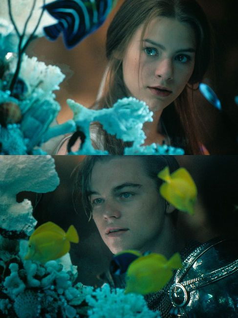 Romeo + Juliet.     Did my heart love 'til now? Forswear its sight. For I never saw true beauty 'til this night.