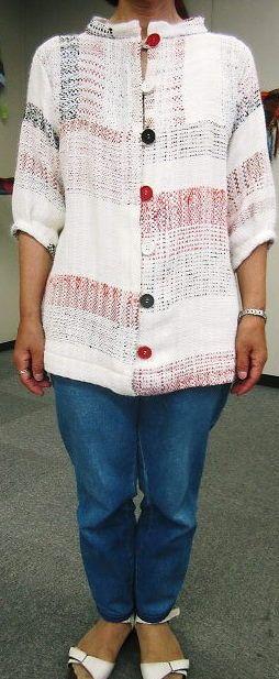 Love this saori jacket!